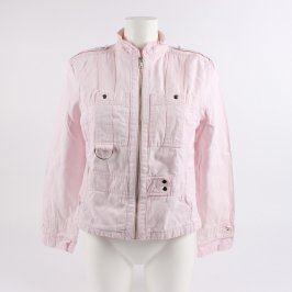 Dámská bunda Casual Wear odstín růžové
