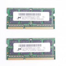 RAM DDR3 Micron MT16JSF25664HZ-1G1F1 2x 2 GB