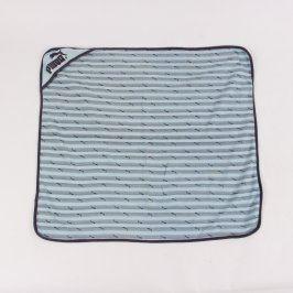 Dětská deka Puma modročerné barvy