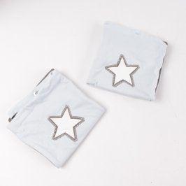 Povlaky na polštáře s hvězdičkami