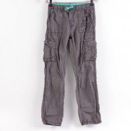 Dívčí kalhoty Y.F.K. odstín hnědé
