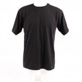 Pánské bavlněné tričko černé