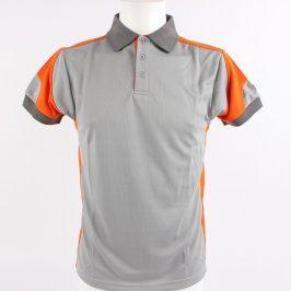 Pánské polo tričko ISSA Line šedé