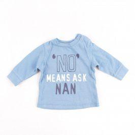 Kojenecké tričko F&F modré barvy