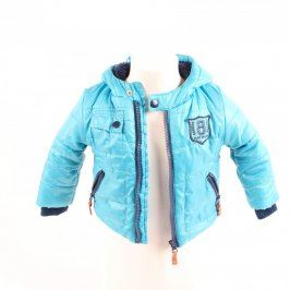 Dětská bunda F&F odstín modré