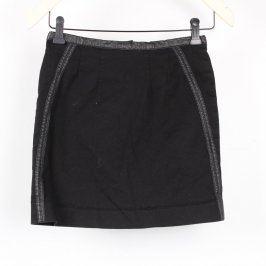Dámská sukně H&M černé barvy