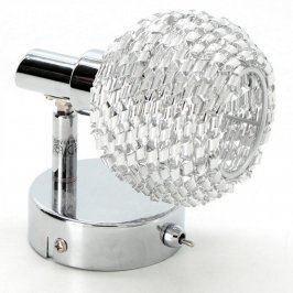 Nástěnná lampa z broušeného skla