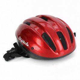 Cyklistická helma červená pro dospělé