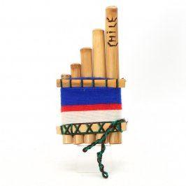 Dechový nástroj: Panova flétna z Chile