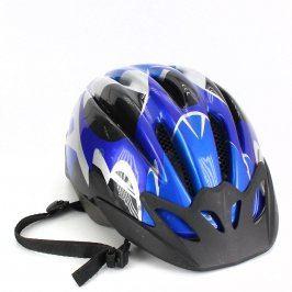 Cyklistická helma pánská modrá