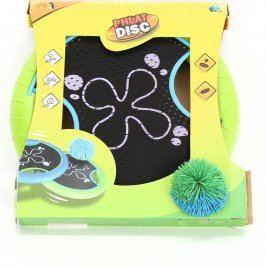 Frisbee Phlat disc s míčkem