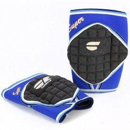 Chrániče volejbalové na kolena modro-černé