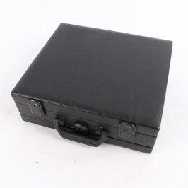 Koženkový kufřík VIVIEN PARFUM černý