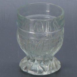 Sklenice na likéry z matného skla