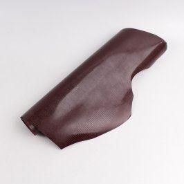 Role koženky tmavě rudé nepravidelný tvar