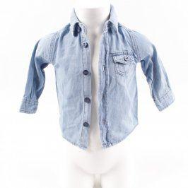 Dětská košile Ergee modrá džínová