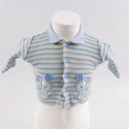 Dětské tričko Just too cute pruhované