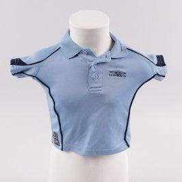 Dětské tričko Umbro modré barvy