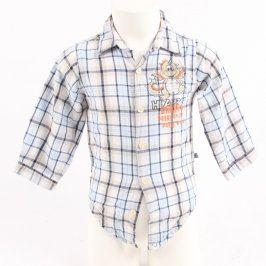 Dětská košile Okay kostkovaná