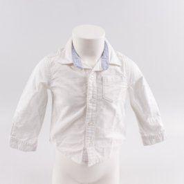 Dětská košile John Lewis bílé barvy