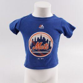 Chlapecké tričko Majestic modré s obrázkem