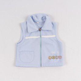 Dětská vesta Lusa modré barvy