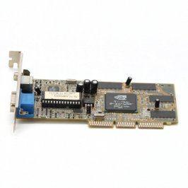 Grafická karta nVidia GeForce 2 MX400 32 MB