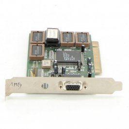 Grafická karta S3 Trio64 UV+ 1,5 MB PCI