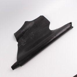 Role koženky černé barvy nepravidelný tvar