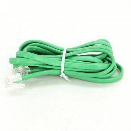 Síťový UTP kabel zelený délka 200 cm