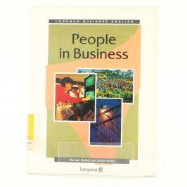 Kniha People in business Longman business en