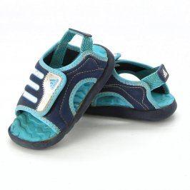 Dětské sandále Adidas odstín modré