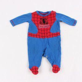 Dětský overal Marvel Spiderman modročervený