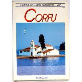 Anglický průvodce Corfu + mapa