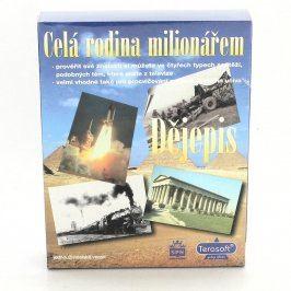 Hra pro PC Celá rodina milionářem - Dějepis