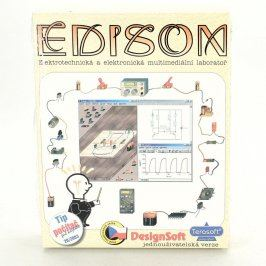 Hra pro PC Edison Elekt.techn. a elektr. lab