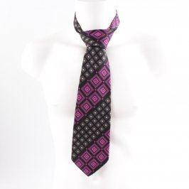 Pánská kravata Commodore s kostičkami