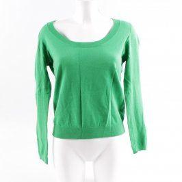 Dámský svetřík ZARA zelený