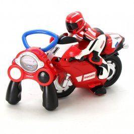Plastová motorka s řidičem