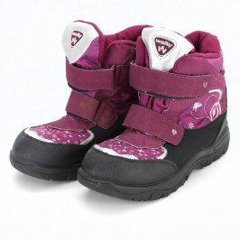 Dětské zimní boty Walky na suchý zip