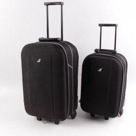 Cestovní kufry Metropolis černé barvy