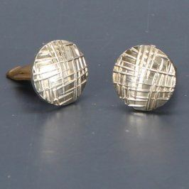Manžetové knoflíčky kulatého tvaru