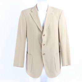 Pánské sako Tommy Hilfiger odstín béžové