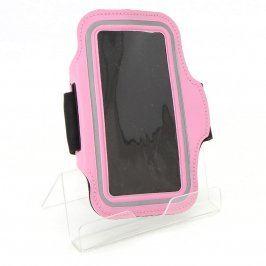Běžecké pouzdro na mobilní telefon růžové