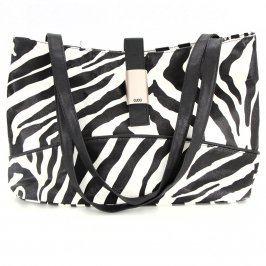 Dámská kabelka Gucci bílo-černá