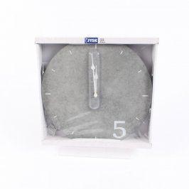 Nástěnné hodiny JYSK šedé