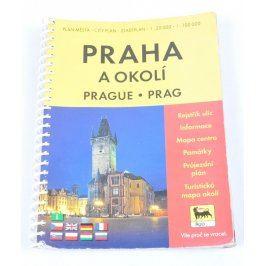 Plán města Praha a okolí