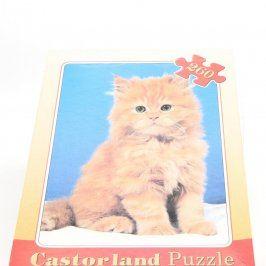 Dětské puzzle Castorland s kočičkou
