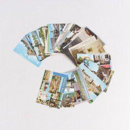 Sbírka pohlednic Česká republika 35 ks