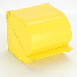 Držák na toaletní papír žlutý